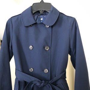 LIKE NEW Girls Uniqlo Rain Coat